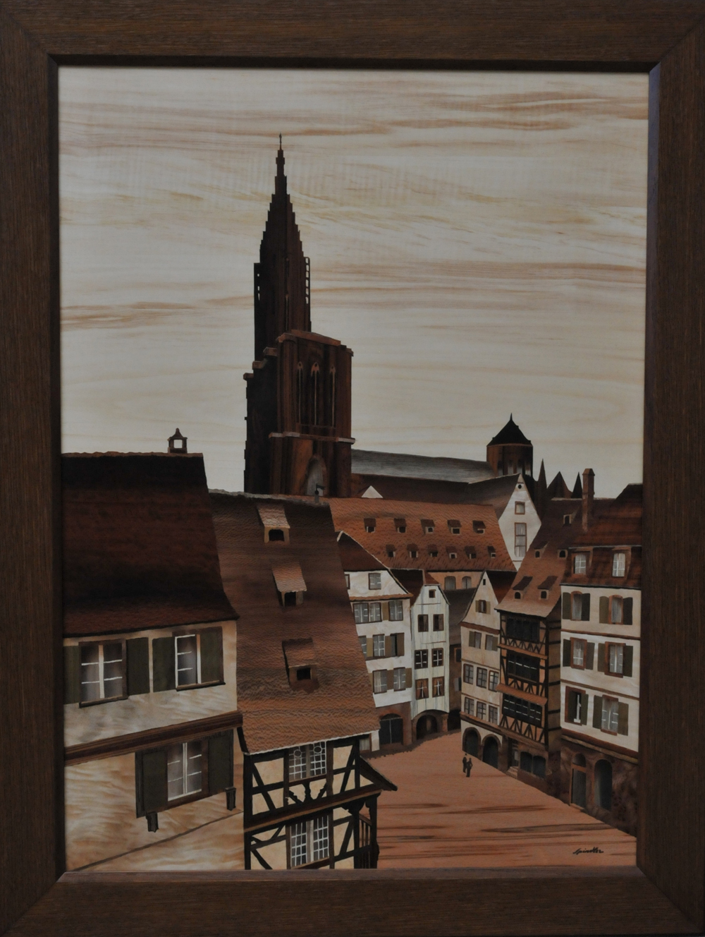 Strasbourg cath drale marqueterie d 39 art spindler - Residence les jardins d alsace strasbourg ...